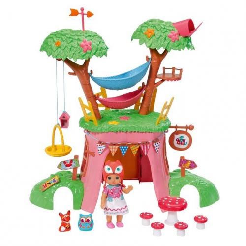Игровой набор Chou Chou Дерево-домик с куклой 920-282