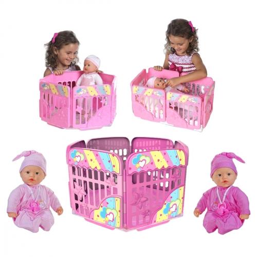 Кукла My Dolly Sucette с игровой площадкой 98132