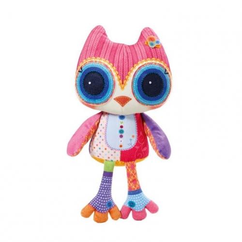 Интерактивная игрушка Мини-птичка Плюшевая сова, 38 см 920-091