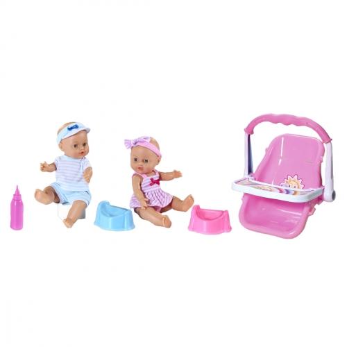 Кукла Le Petit Bebe, с автокреслом 98419