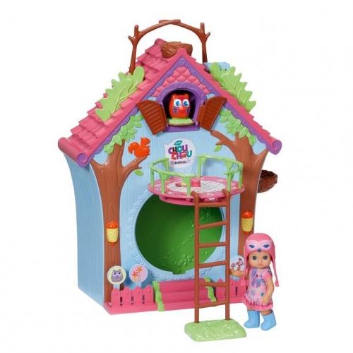 Игровой набор Мини-птичка Домик с куклой 920-077