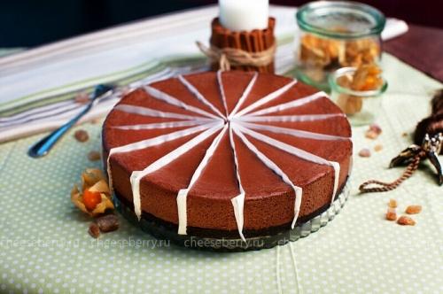 Чизкейк Шоколадный порцией и целый
