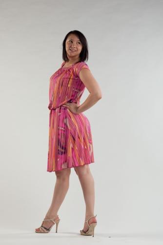 Распродажа! Платье с кокеткой 8М