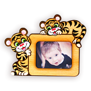 фоторамка Тигрята