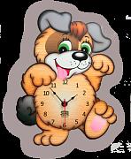 часы собачка Бом