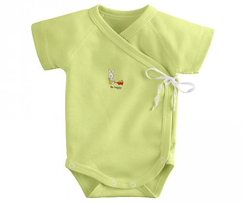 Боди для новорождённого с коротким рукавом
