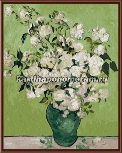 Ваза с розами, Ван Гог