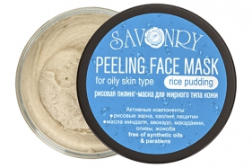 Пилинг-маска Рисовый пудинг (для жирного типа кожи)