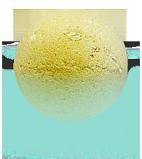 Шарик для ванн Цветочный мед с пеной