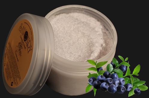 Скраб для тела сахарный Синильга(черника)
