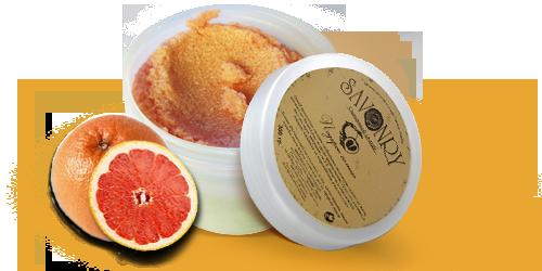 Скраб для тела сахарный Подарок солнца (грейпфрут)