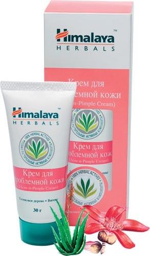 Крем от угрей и прыщей Гималаи Хербалс (Himalaya herbals). Для проблемной кожи.30 мл