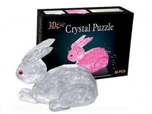 3D Головоломка Crystal Puzzle Заяц
