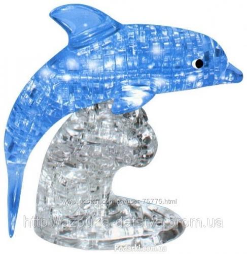 3D Головоломка Crystal Puzzle Дельфин