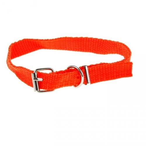 Ошейник для собак (33,5*1,5 см, полиэстер, цвет красный)
