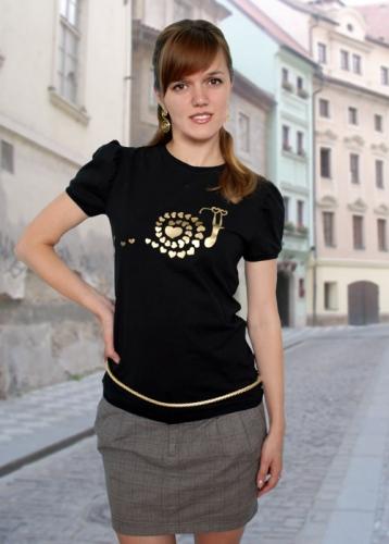 Загадка, футболка женская