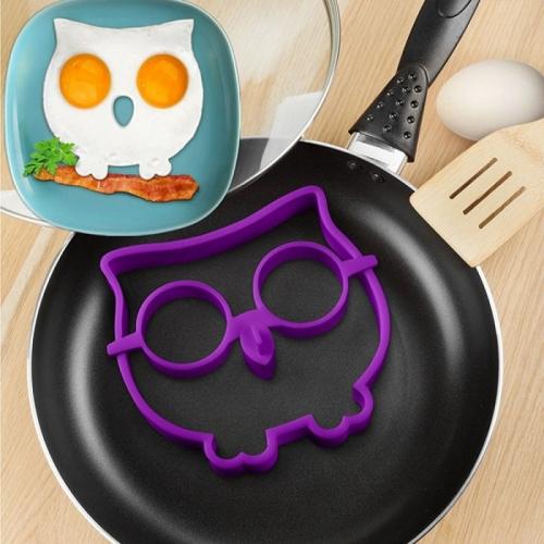Силиконовая форма для жарки яиц Сова