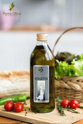 ХИТ!!! Масло оливковое ERATO первого холодного прессования нерафинированное Extra virgin oil 1л