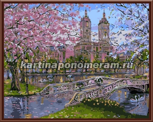 Цветущий парк