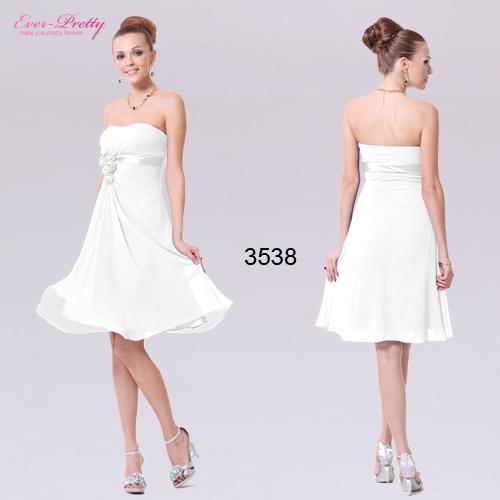 Белое коктейльное платье с цветами
