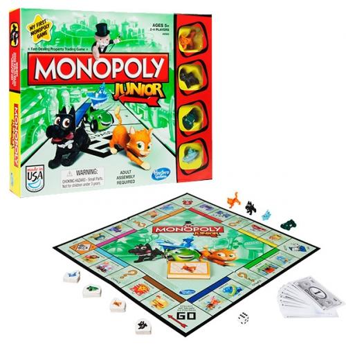 Игрушка игра Моя первая Монополия
