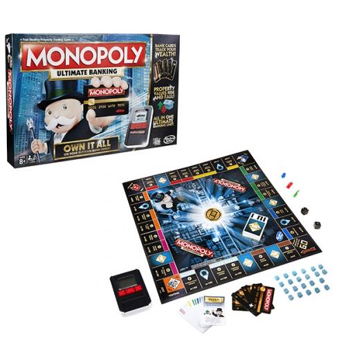 Игрушка Hasbro Монополия с банковскими картами (обновленная)