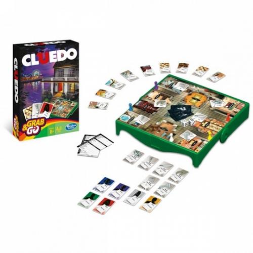 Игрушка игра Клуэдо. Дорожная версия.