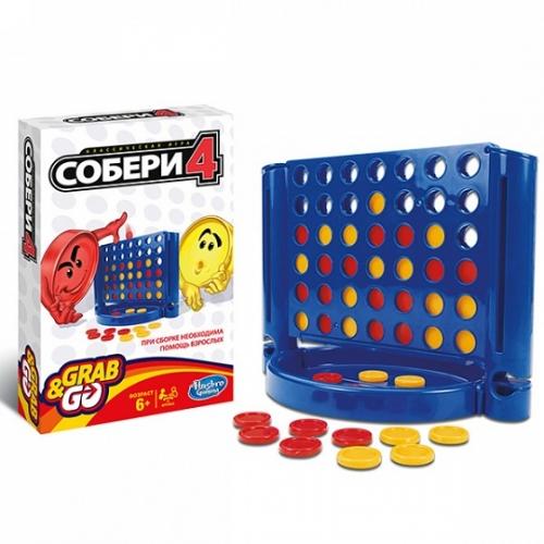 Игрушка игра дорожная  Собери 4