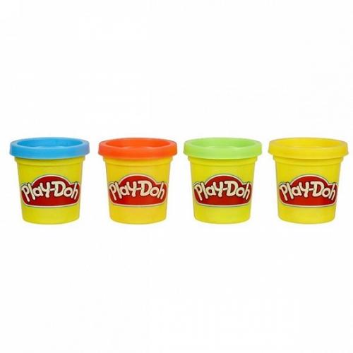 Игрушка Hasbro Play-Doh Набор из 4  МИНИ баночек