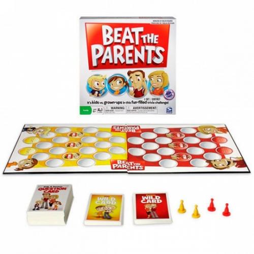 Игра Spin Master настольная Обыграй родителей