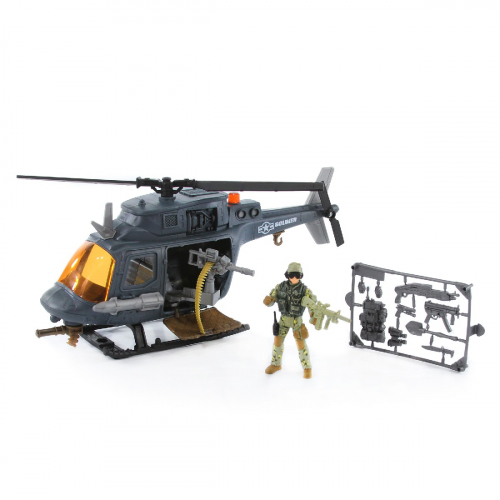 4 шт. доступно/521003-2 Набор: Десантный вертолет (1 фигура)