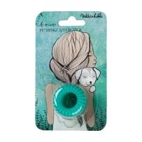 Резинка для волос Vikki&Lilli изумрудная (3 шт.)