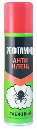 РЕФТАМИД аэрозоль Экстра АНТИКОМАР 150 мл усиленный 3706-01  (03.07.006.01)   х24