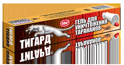 ТИГАРД гель-шприц 30гр. от тараканов к/48шт