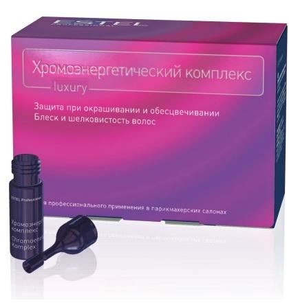 Ампулы для волос ESTEL  хромоэнергетический комплекс с улучшенной формулой, 5 мл