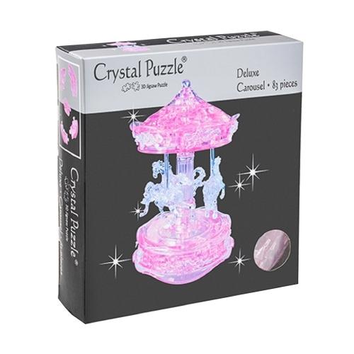 3D Головоломка Карусель розовая 91209