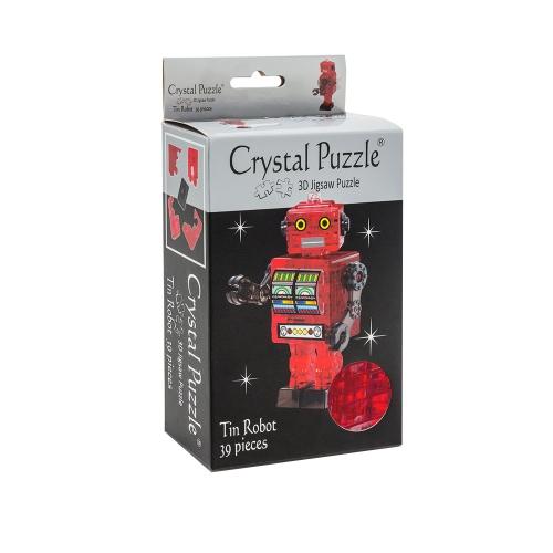 3D Головоломка Робот красный 90151