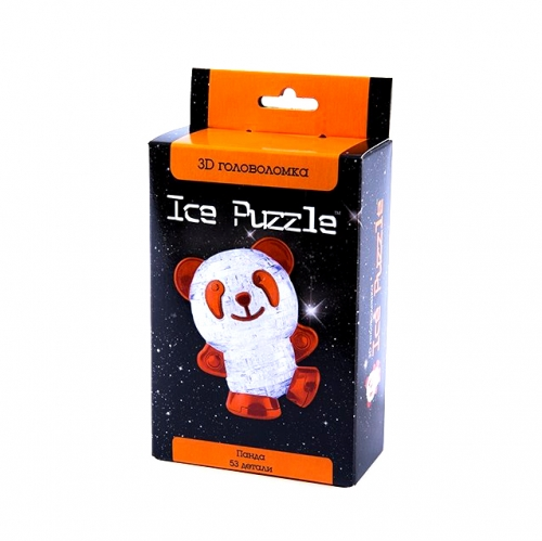 3D Головоломка Панда красная 0-151