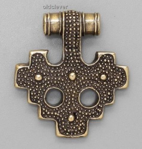 Крест,латунь Л1.014