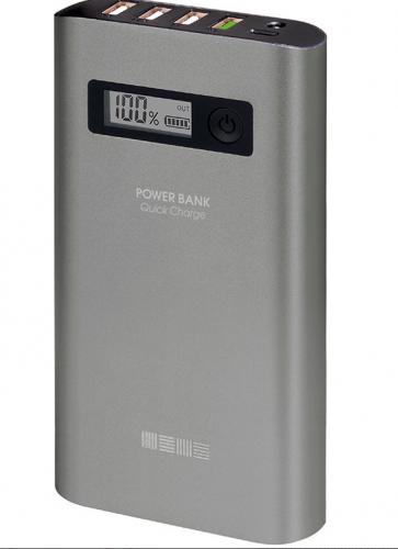 Внеш аккумулятор PB15000QC4U 4USB Quick Charge 3.0 Li-Ion