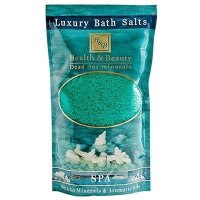 Соль  Мертвого моря  для принятия ванн  -  Зеленое яблоко (зеленая)