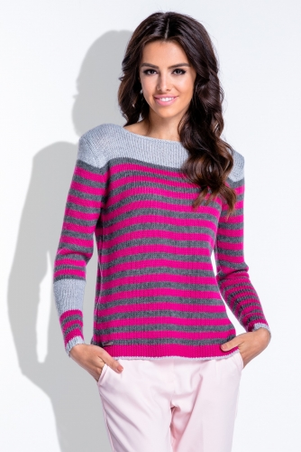 F422 свитер серый 1320р