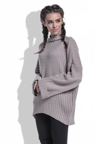 F423 свитер мокка 1680р
