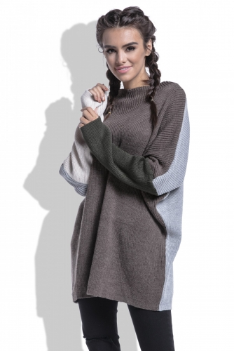 F428 свитер эспрессо 1820р