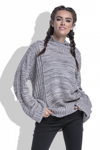 F434 свитер мокка 1680р