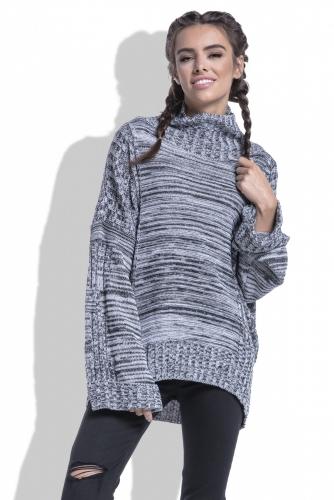 F434 свитер черный 1680р