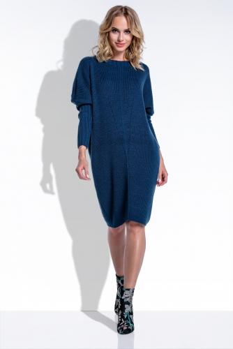 I192 платье синее 1780р