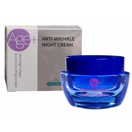 Ночной крем для лица против морщин (AGE+)