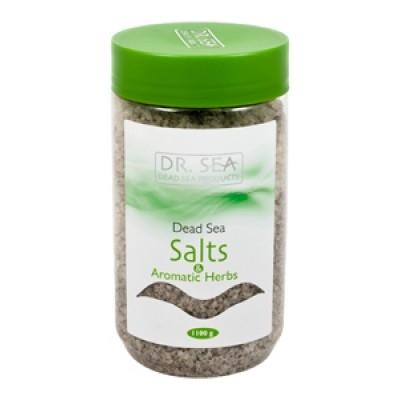 Соль Мертвого моря с ароматическими травами