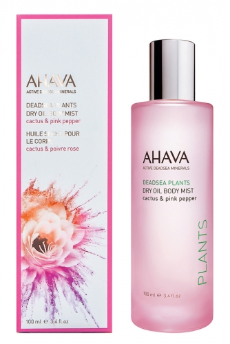 Ahava Deadsea Plants  Сухое масло для тела Кактус и розовый перец 100 мл